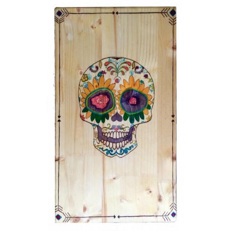 Fresh wind works - Mexican skull