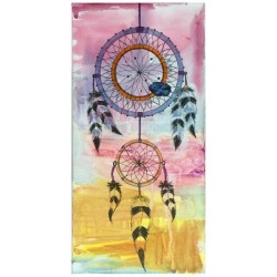 Fresh wind works - Dream catcher Tie dye