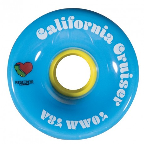 Remember California Cruisers 70mm bleu