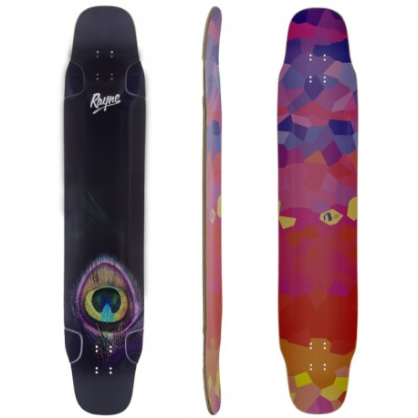 "Rayne Whip 47"" Peacock Graphic"