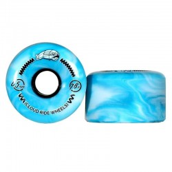 Cloud Ride Cruiser Marble Teal and White 65mm
