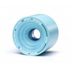 Orangatang In Heat Blue 75mm