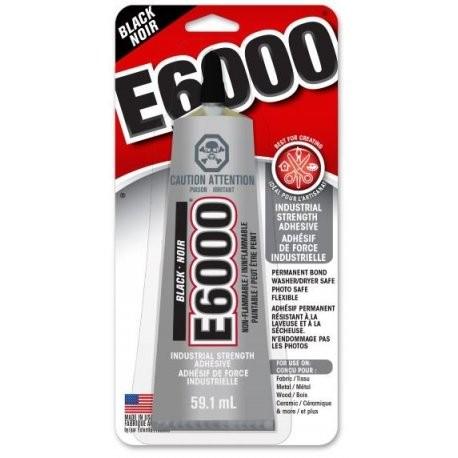 E6000 Craft Glue Black (59.1ml)