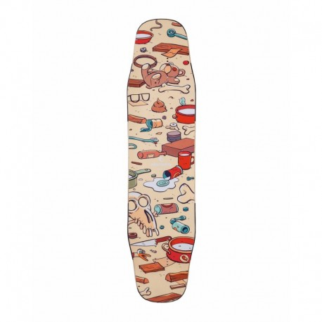 "Alternative Longboards Chauma M Sidewall ""Junkyard"""