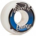 blood orange conical shape 53mm 99a skateboard wheels