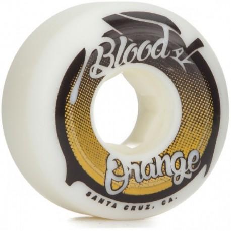 blood orange conical shape 53mm 99a skateboard wheels