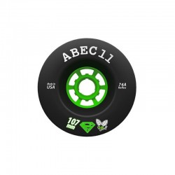 ABEC11 SUPER FLY 107MM ROUES BLACK