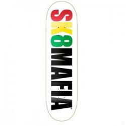 """Sk8MAFIA - Rasta logo 8"""""""
