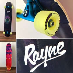 rayne whip 44 / paris 50° / five0 64mm