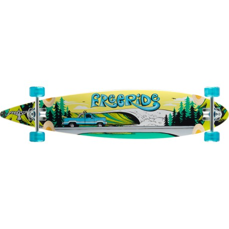 freeride longboard : Timber Line pintail 42 complete