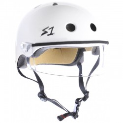 S-One Lifer Visor Helmet blanc