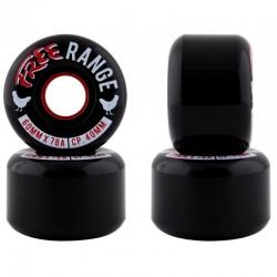 Free Wheels Free Range 60mm black