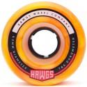 HAWGS WHEELS FATTIE 63MM - ORANGE YELLOW SWIRL 78