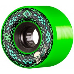 POWELL PERALTA WHEELS SNAKES GREEN 66MM