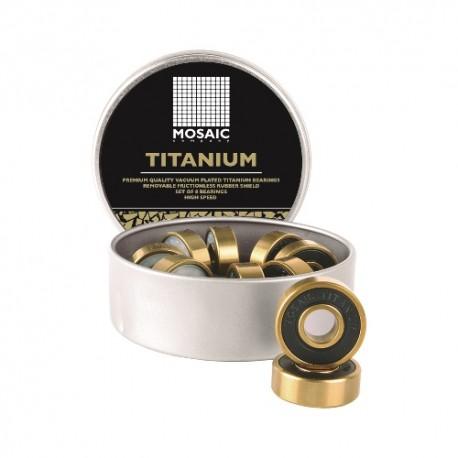 Super Titanium 1 Abec 7 Mosaic Bearings