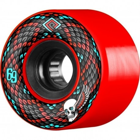 Powell Peralta Snakes 69mm Wheels rouge