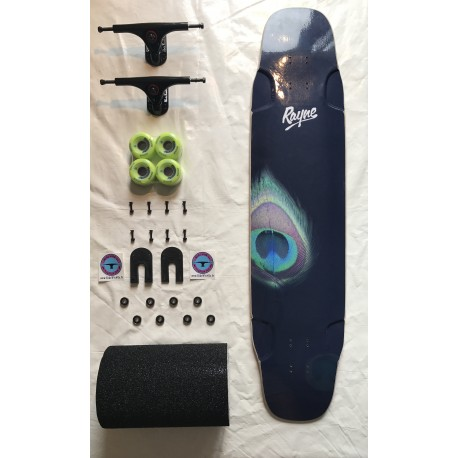 "Rayne Whip 41"" Peacock Graphic complete"