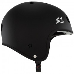 S-One Retro Lifer casque noir mate